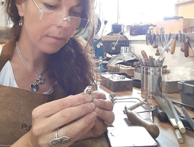 Phillipa Davies - 10am - 5pmOpen studio and demonstrations - silversmith at Pa-Pa Jewellery