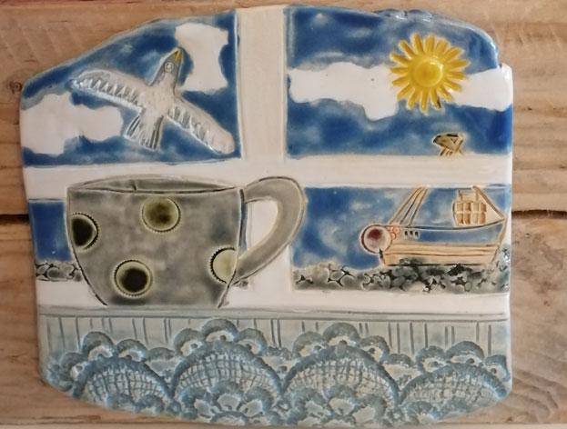 Pippa Neilson - 11am - 4.30Open studio - Gower drift art
