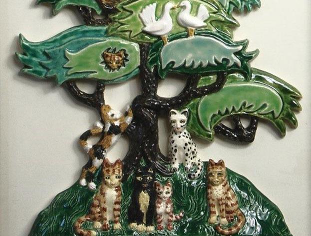 Gill Pittman - 11am - 6pmOpen studio - Decorative wall ceramics