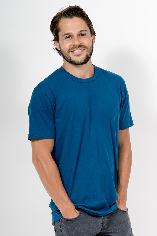 Custom Next Level 3600 t-shirt front