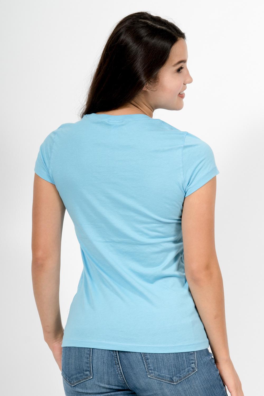 Custom Bella + Canvas b6005 t-shirt back