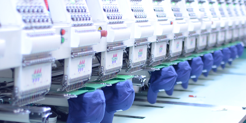 Embroidery - High end quality with hundreds of different color threads. Our embroidery team can embroider almost any design, on any merchandise, and and can always match your business or organization's colors!