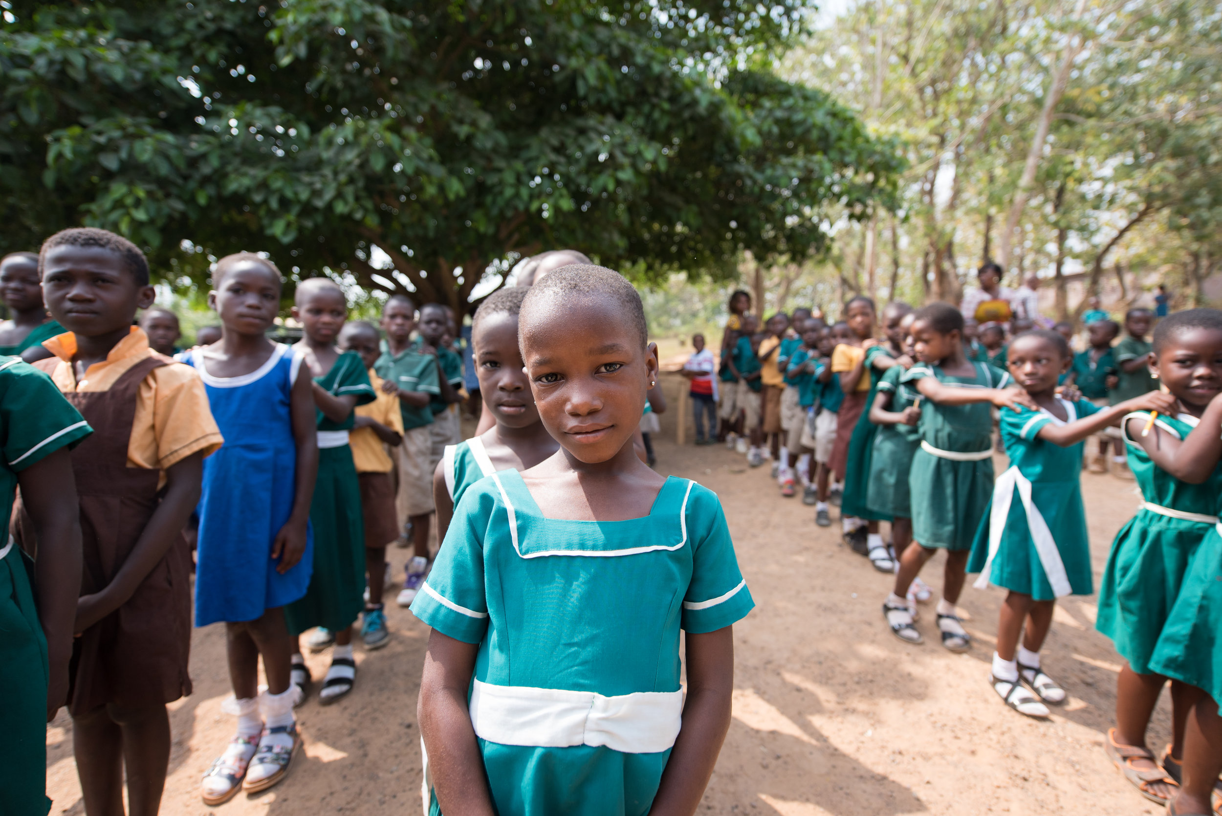 Already at a young age, the children know that OLG Senior High School Ghana is an opportunity for them to RISE and SHINE. -