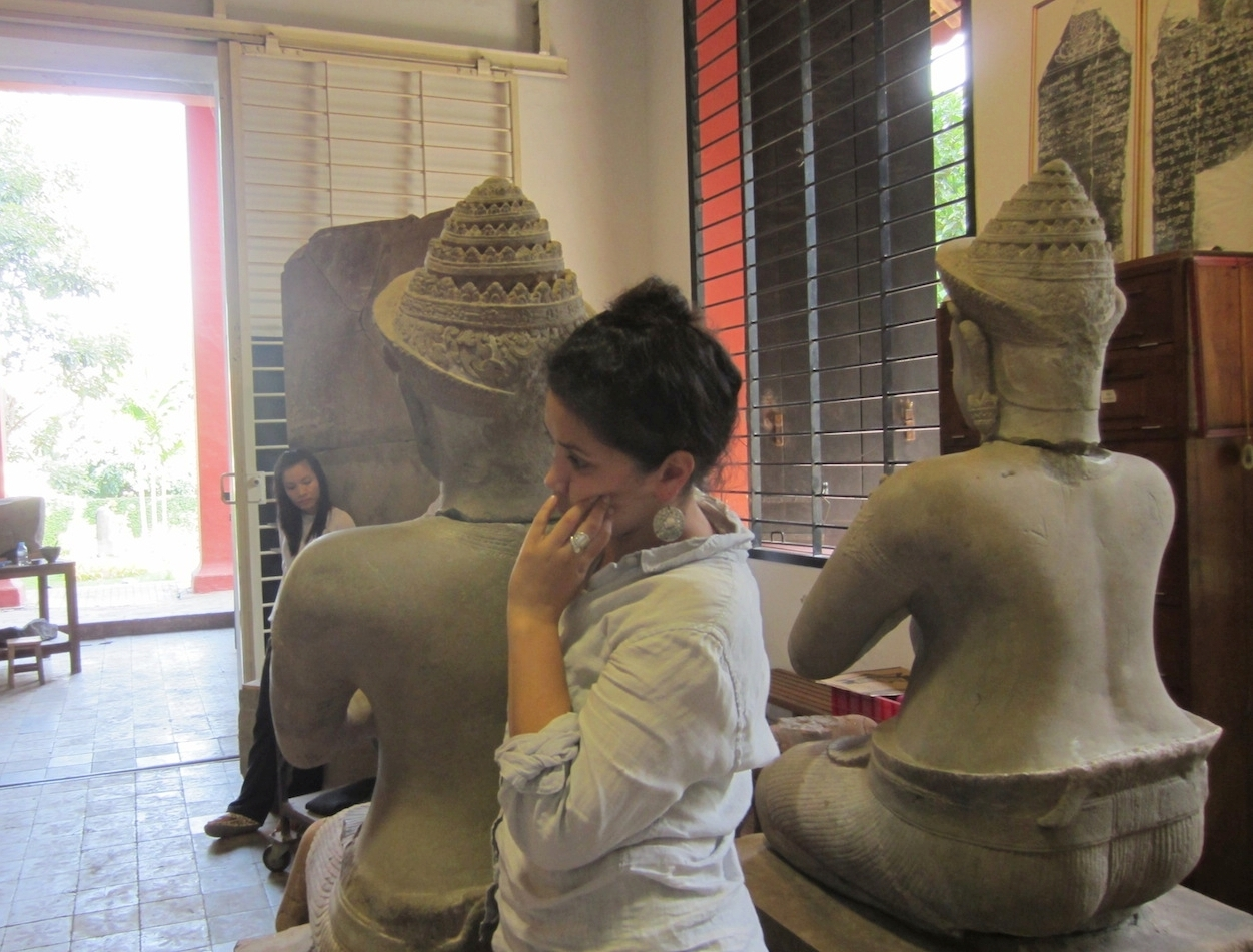 [Photo: National Museum of Cambodia, Phnom Penh]