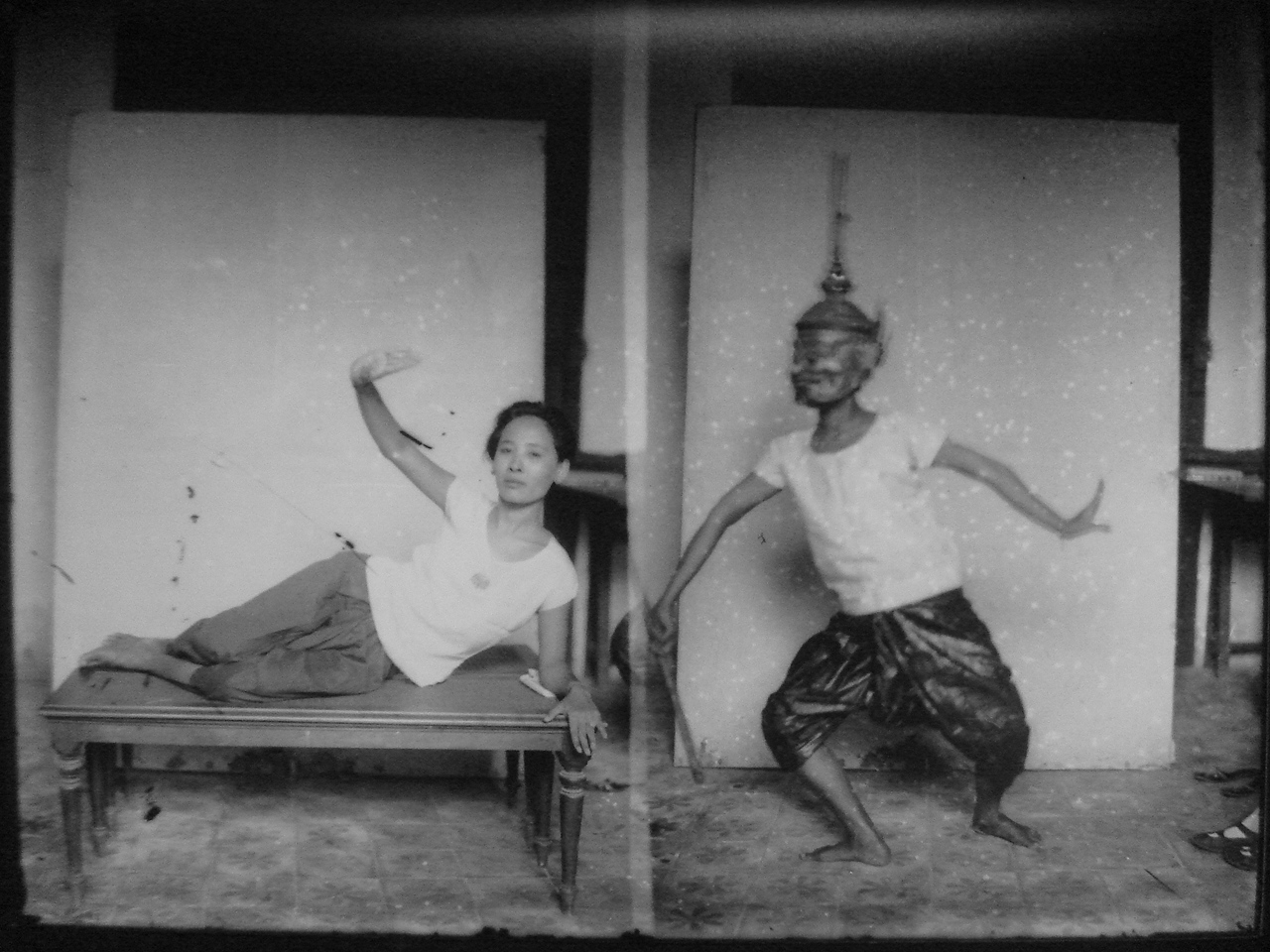 glass-plate negatives in the archives of the nation museum of cambodia, phnom penh