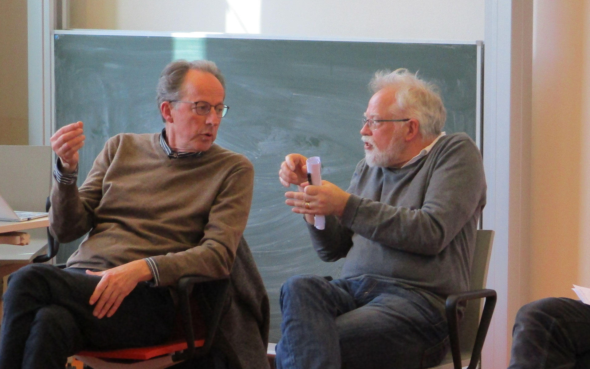 History and Theory in Dutch Architecture Education today - panel discussion with Bernard Colenbrander and Herman van Bergeijk