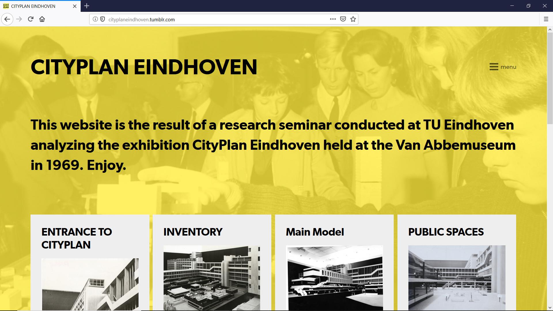 Revisiting CityPlan Eindhoven - DIGITAL ESSAYs