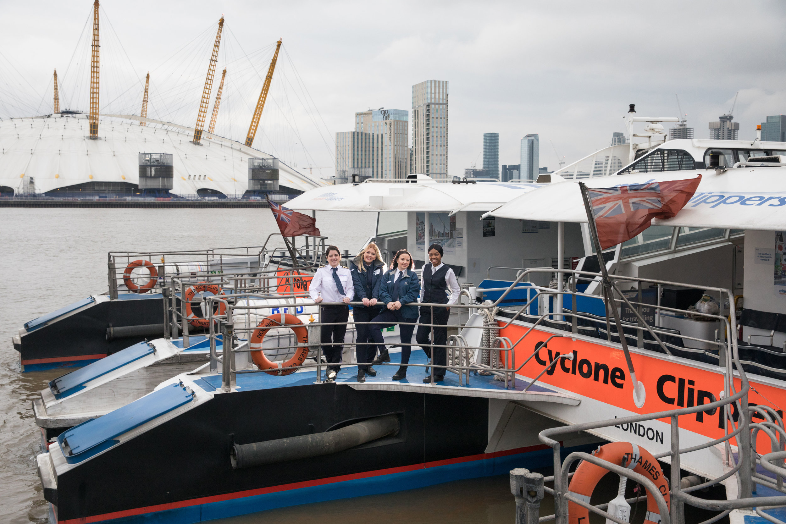MBNA Thames Clippers' all-female crew for International Women's Day 2018... (1).jpg