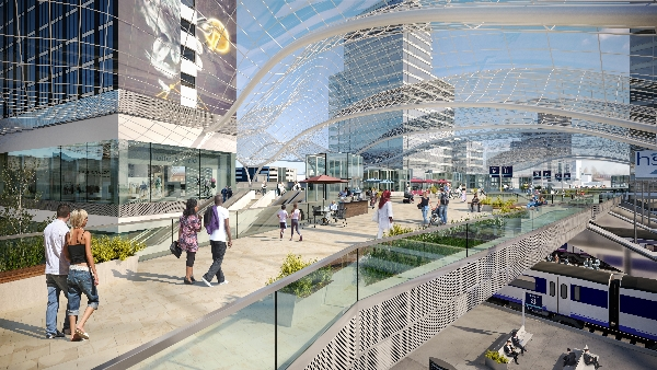 Leeds Station Integrated Station Masterplan. Copyright SNC-Lanvalin's Atkins.