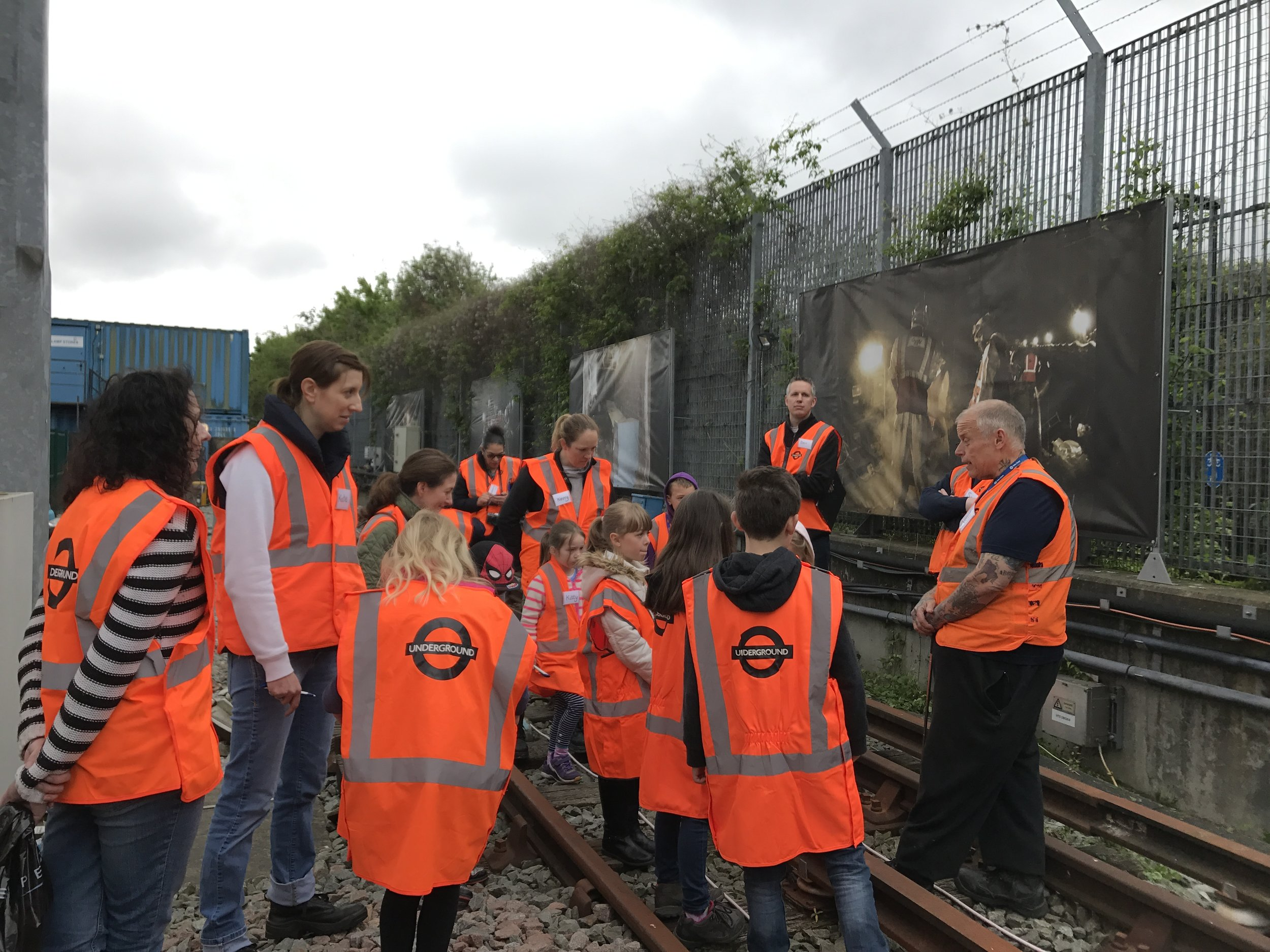 Track Hazard site visit with Neil Pepper in 2017