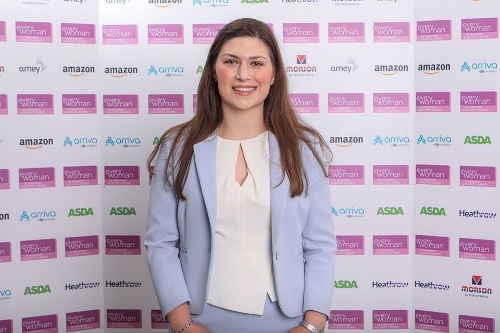 Claire Rose from HS2, Infrastructure Award, Leader finalist 500.jpg