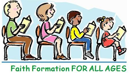 The new look of Christian Education is Faith Formation for all ages! Join us on the 1st & 3rd Wednesday's of the month at St. John with dinner at 5:30. From 6:00-7:00 there will be learning opportunities that will include but not limited to; Adult Book Study and/or Book Club, Faith learning for youth and adults, service projects & confirmation. Please join us for a kickoff celebration on Wednesday, 9/26/2018 with dinner starting at 5:30 and learning starting at 6:00. Click  HERE  for registration form or register on-line below.