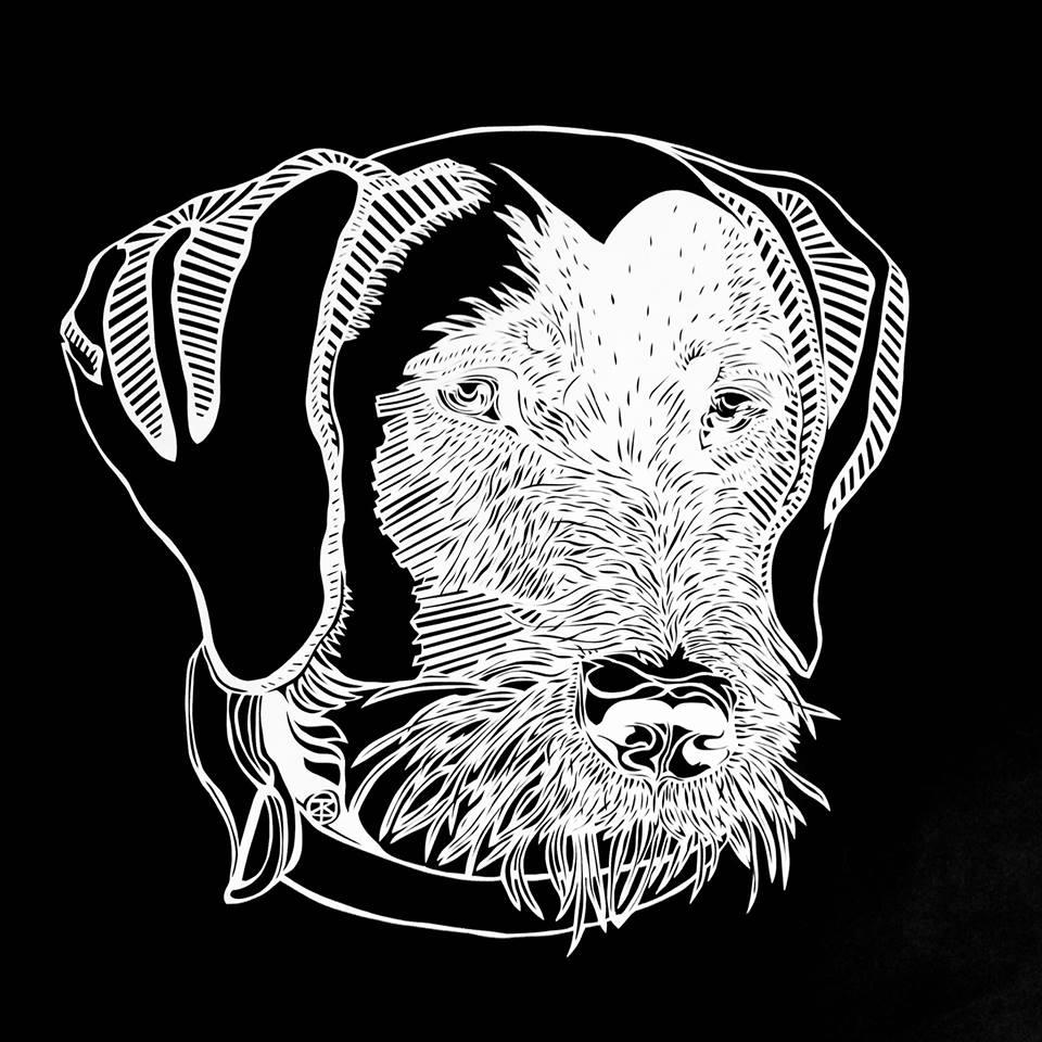 Keesie, the dog of Eduard de Jager