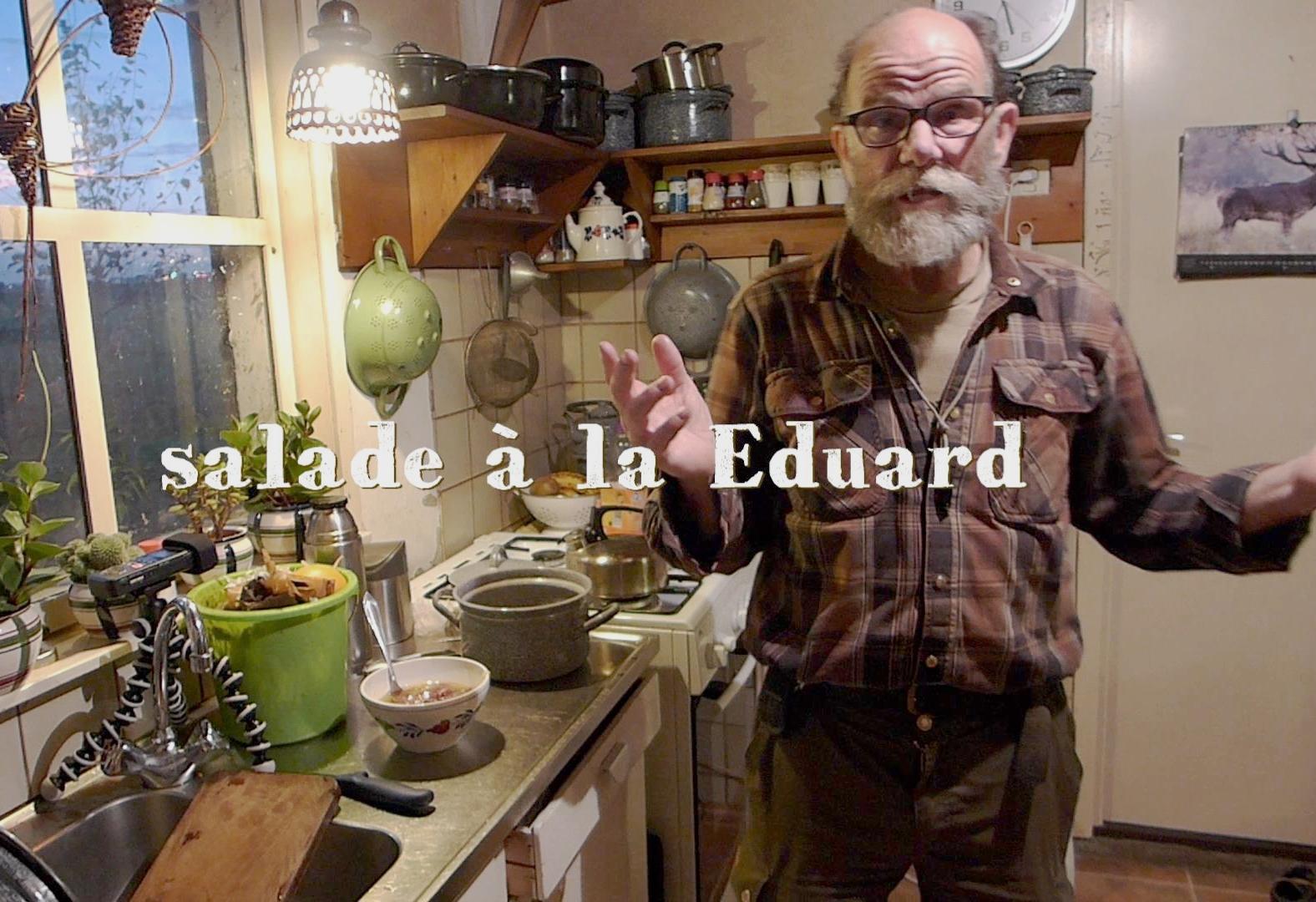 Eduard van Adrichem foraged salad