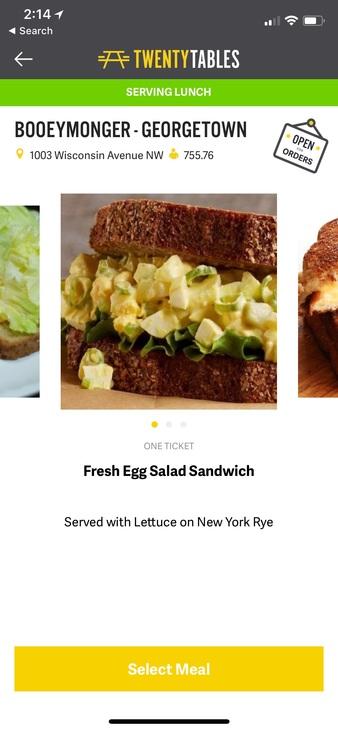 Best Egg Salad Sandwich in DC