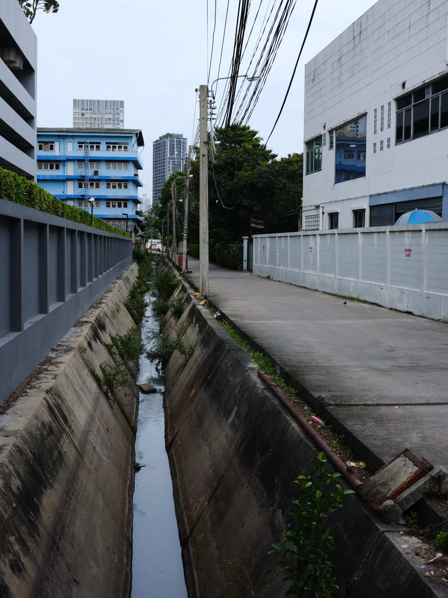 Canals or often nuch much more than small concrete ducts.