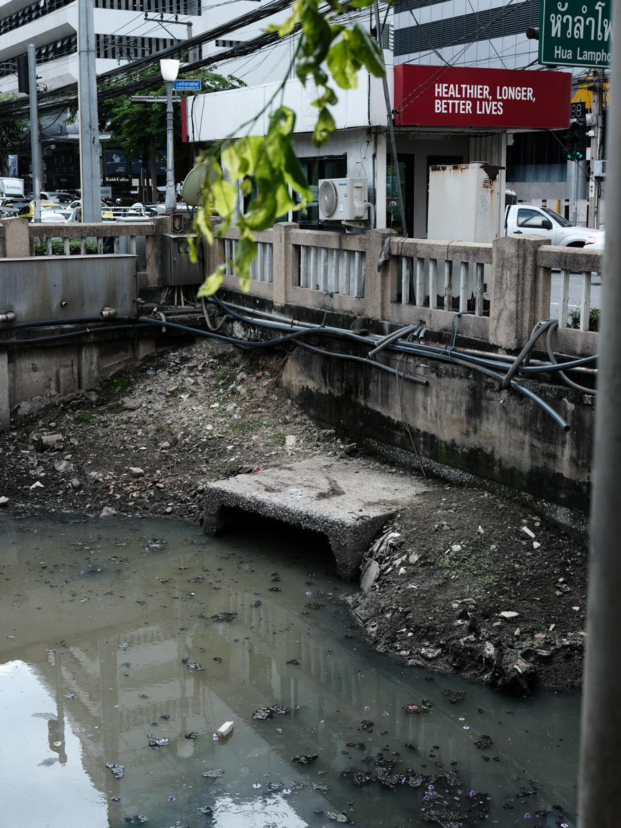 Many canals are polluted with litter and poorly looked after