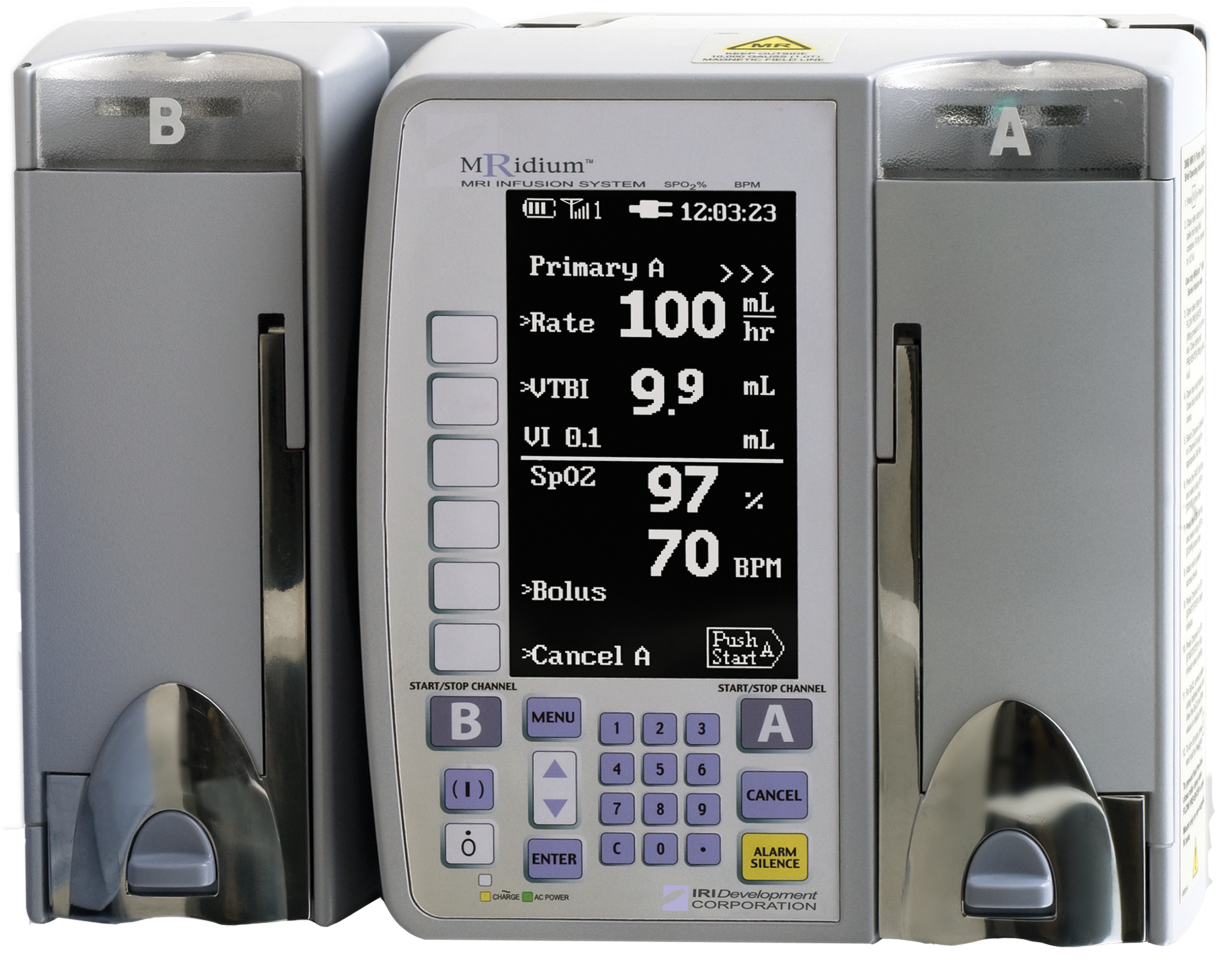 3860+ MRI IV Infusion Pump System