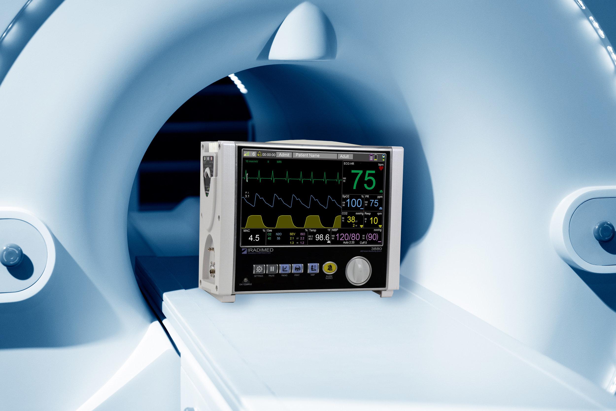 IRadimed 3880 at MRI Bore.jpg