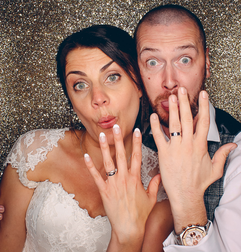 Mr & Mrs Spooner - Previous winners of our Photo Booth Prize Draw!!!