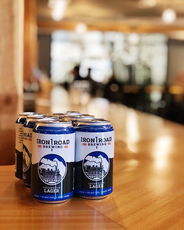 Ready to rock n' roll with a six pack of our Locomotive Lager 🤘 available in the taproom and at regional retailers.