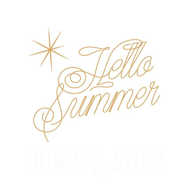 Where did summer go? It's hard to believe we're almost half way August. Gearing up for an exciting and busy fall. Till then, we'll just keep pretending that summer will be here for a while...