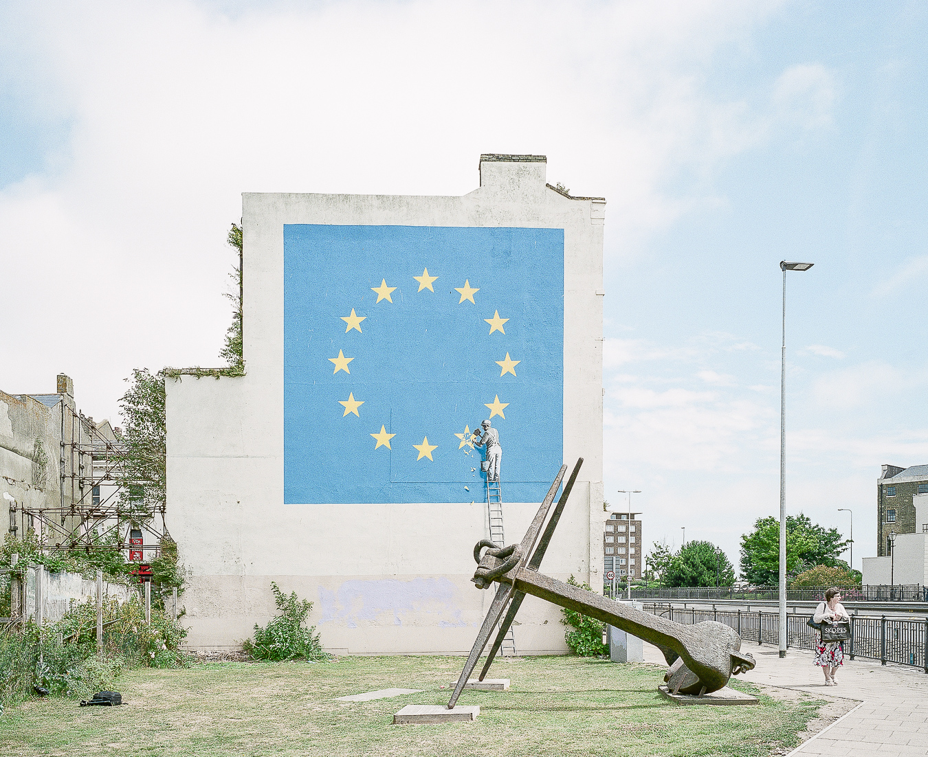 Site Visit: Banksy Brexit Mural Dover - ARTVISIT .
