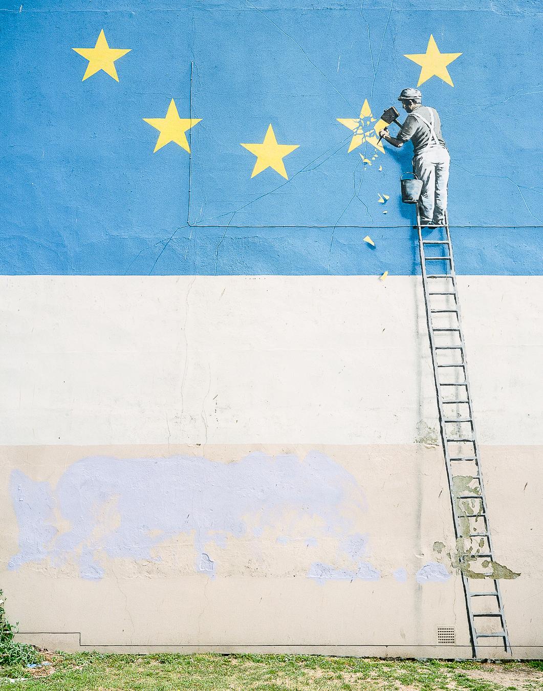 Site Visit: Banksy Brexit Mural Dover - ARTVISIT ...