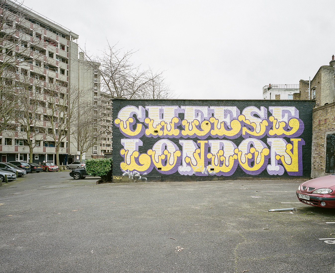 Street Graffitis in Bethnal Green