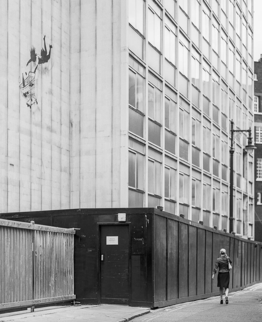 Banksy's 'Shop Until You Drop', Bruton Street, London - ARTVISIT .