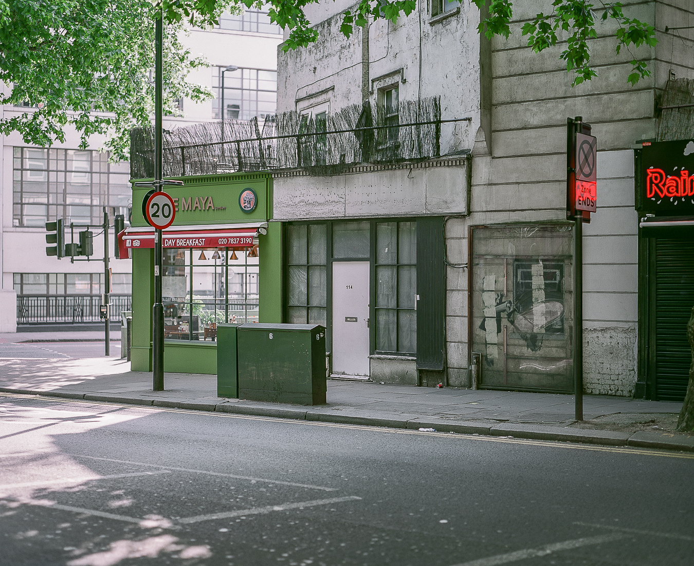 Banksy's 'Cash Machine',Rosebery Avenue, London - ARTVISIT