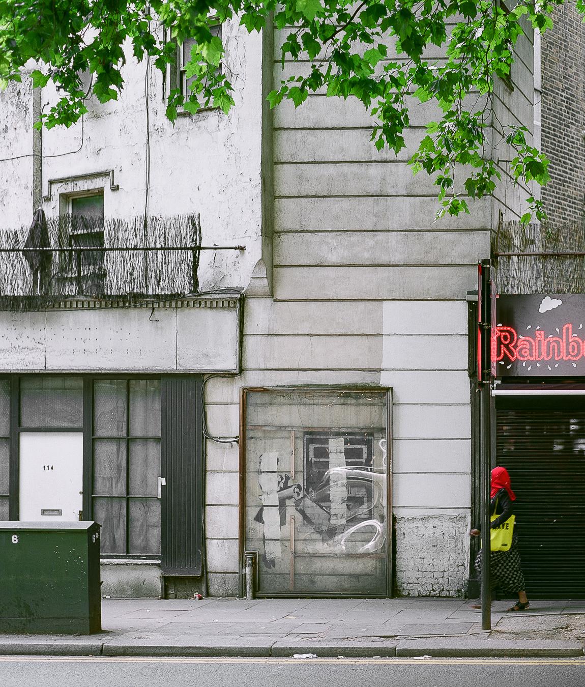 Banksy's'Cash Machine',Rosebery Avenue, London