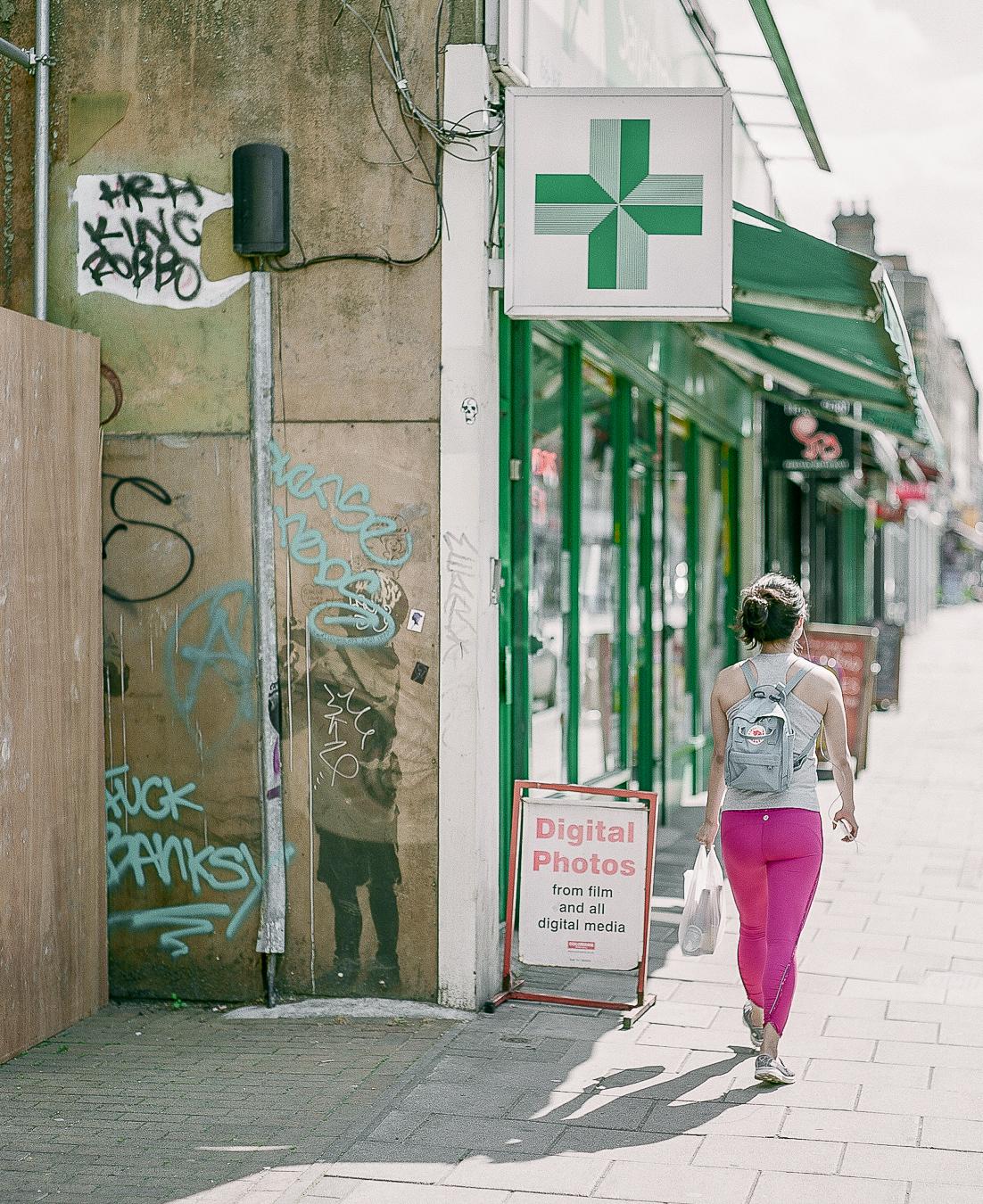 Banksy's 'Very Little Helps' - ARTVISIT