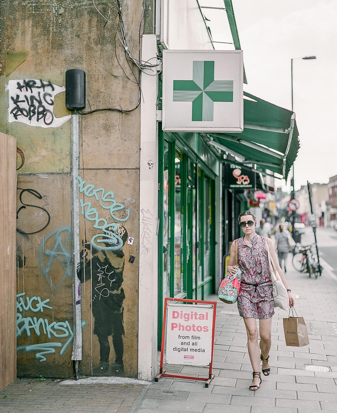 Banksy's 'Very Little Helps' - ARTVISIT .