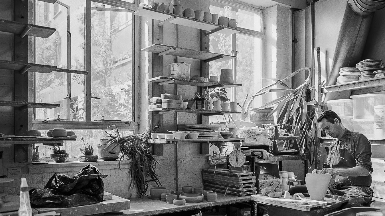Studio Visit:Ceramist Jonathan wade - Glasgow, UK | May 2017