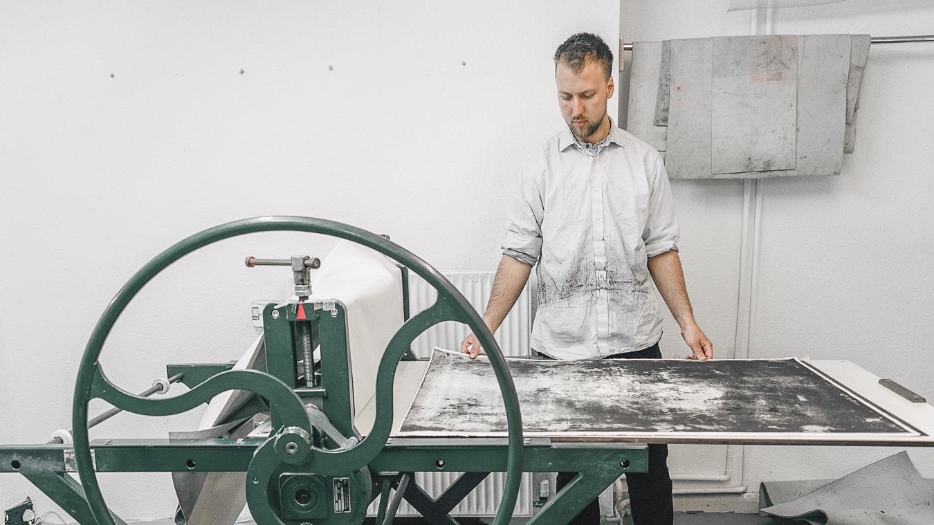 Studio Visit:Artist Theodore Ereira-Guyer - London | April 2017