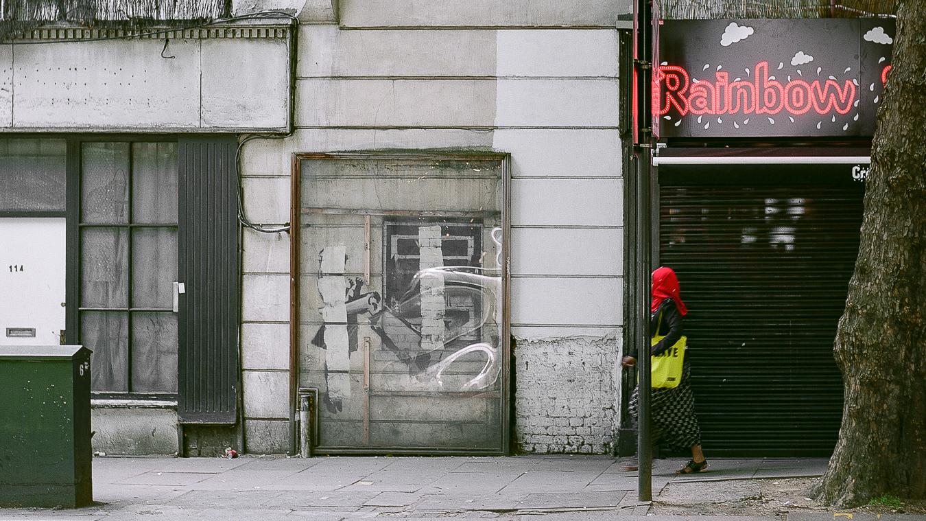 Site Visit: Remains of Banksy's Street Art - London | September 2017