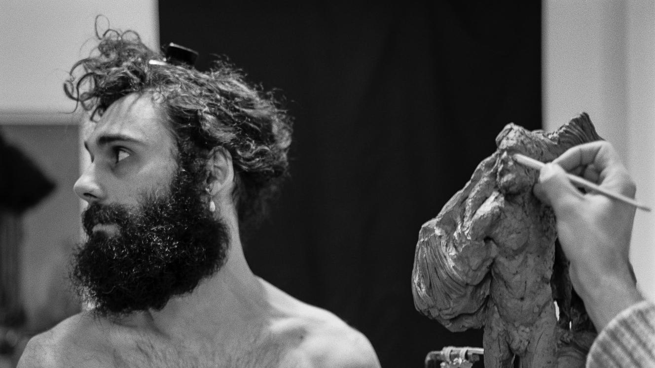 Studio Visit:Sculptor Thomas Merrett - London | Feb 2017