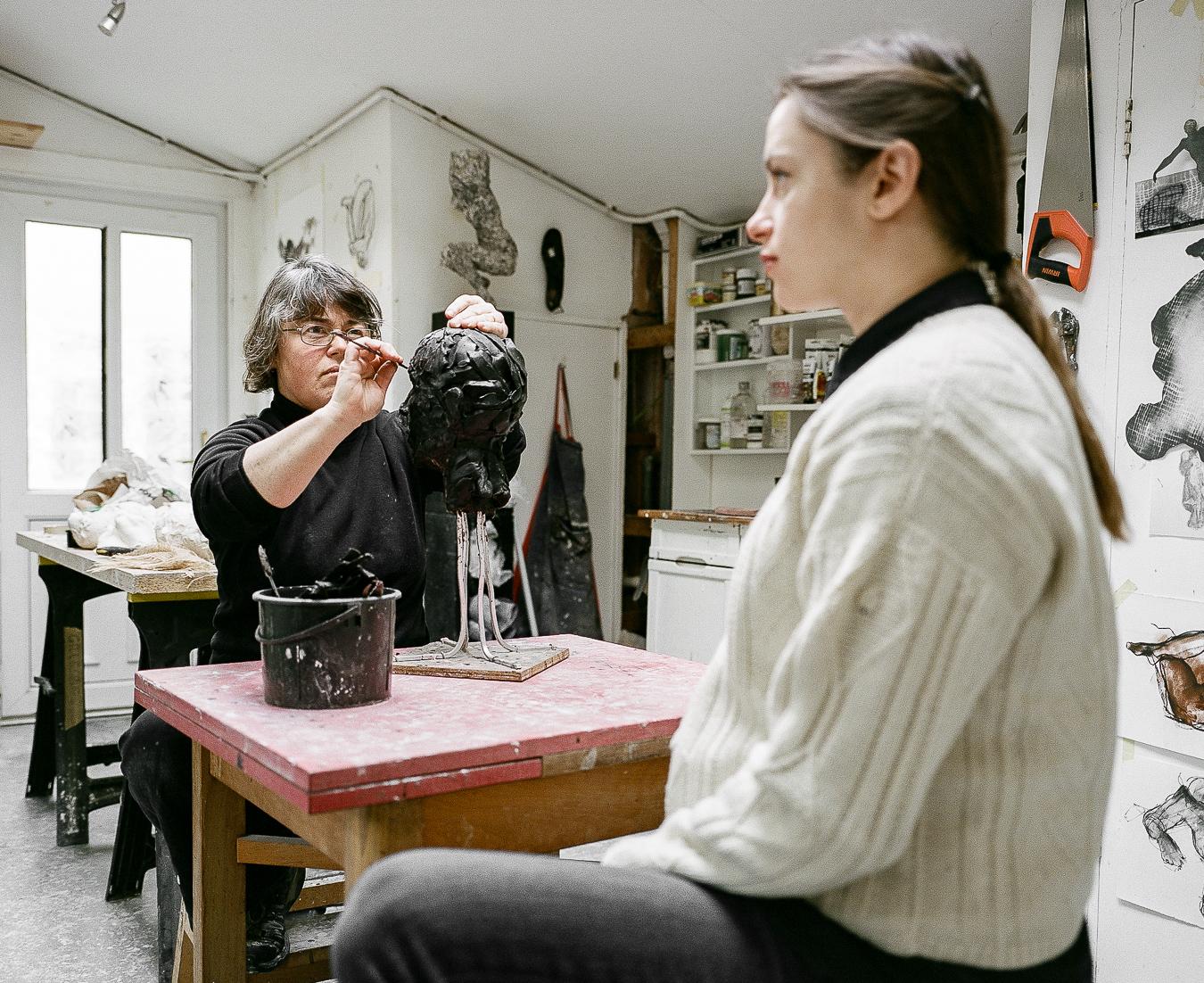 Studio Visit: Anna Gillespie - ARTVISIT............