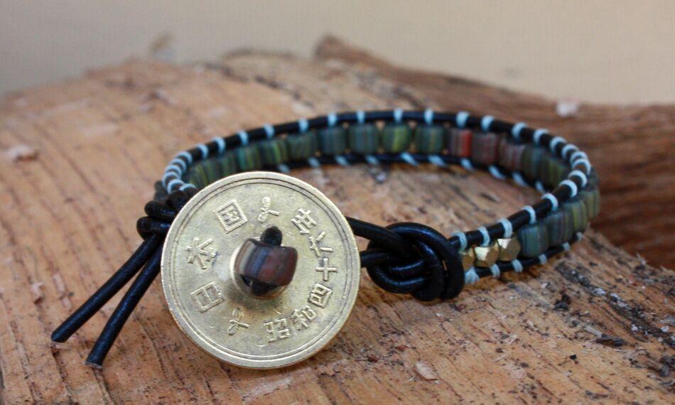 GLITR men's wrap bracelet