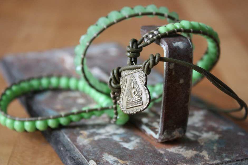 GLITR triple-wrap bracelet