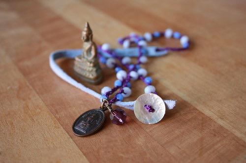 GLITR Buddha necklace