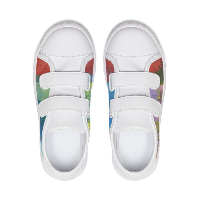 Kids Primary Canvas Sneakers