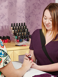 Manicures and Pedicures at The Beauty Therapy Centre