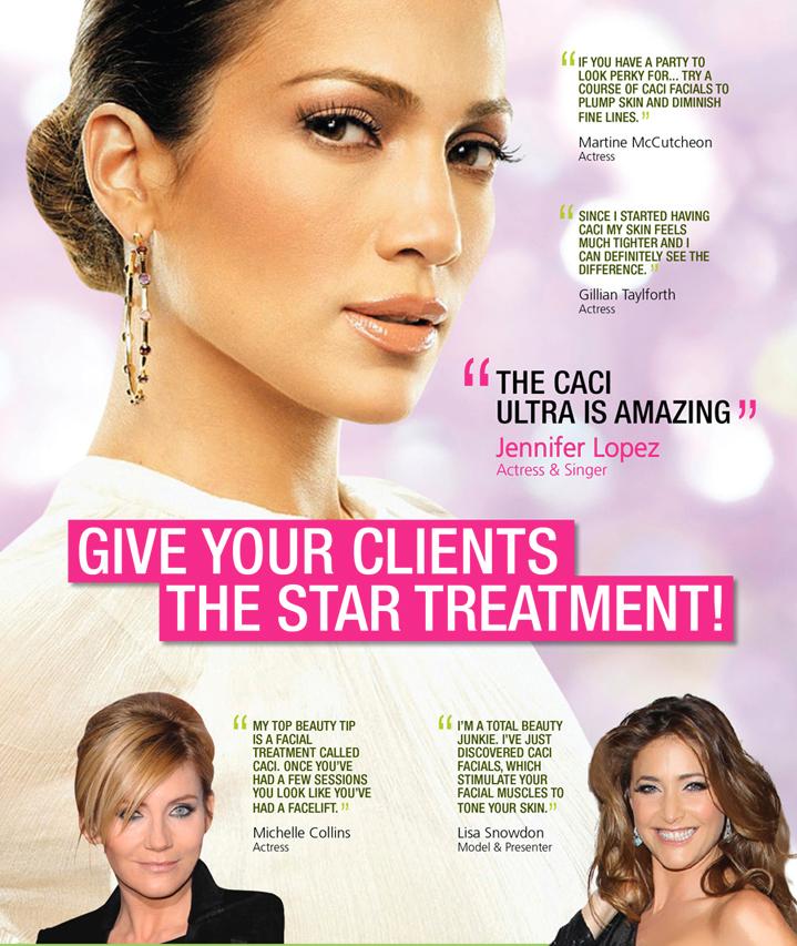 CACI body treatments