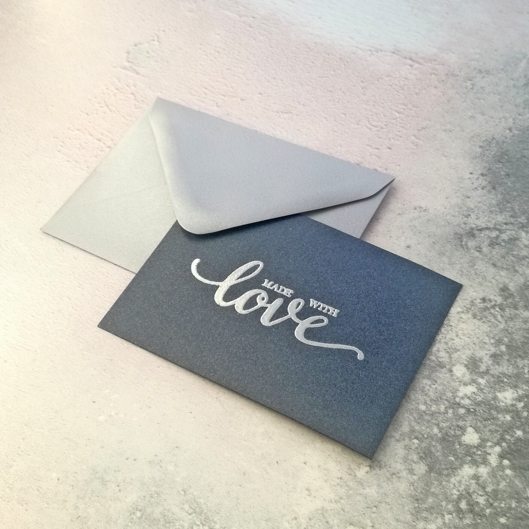 Add a handmade gift tag to your order with a short message to your loved one.
