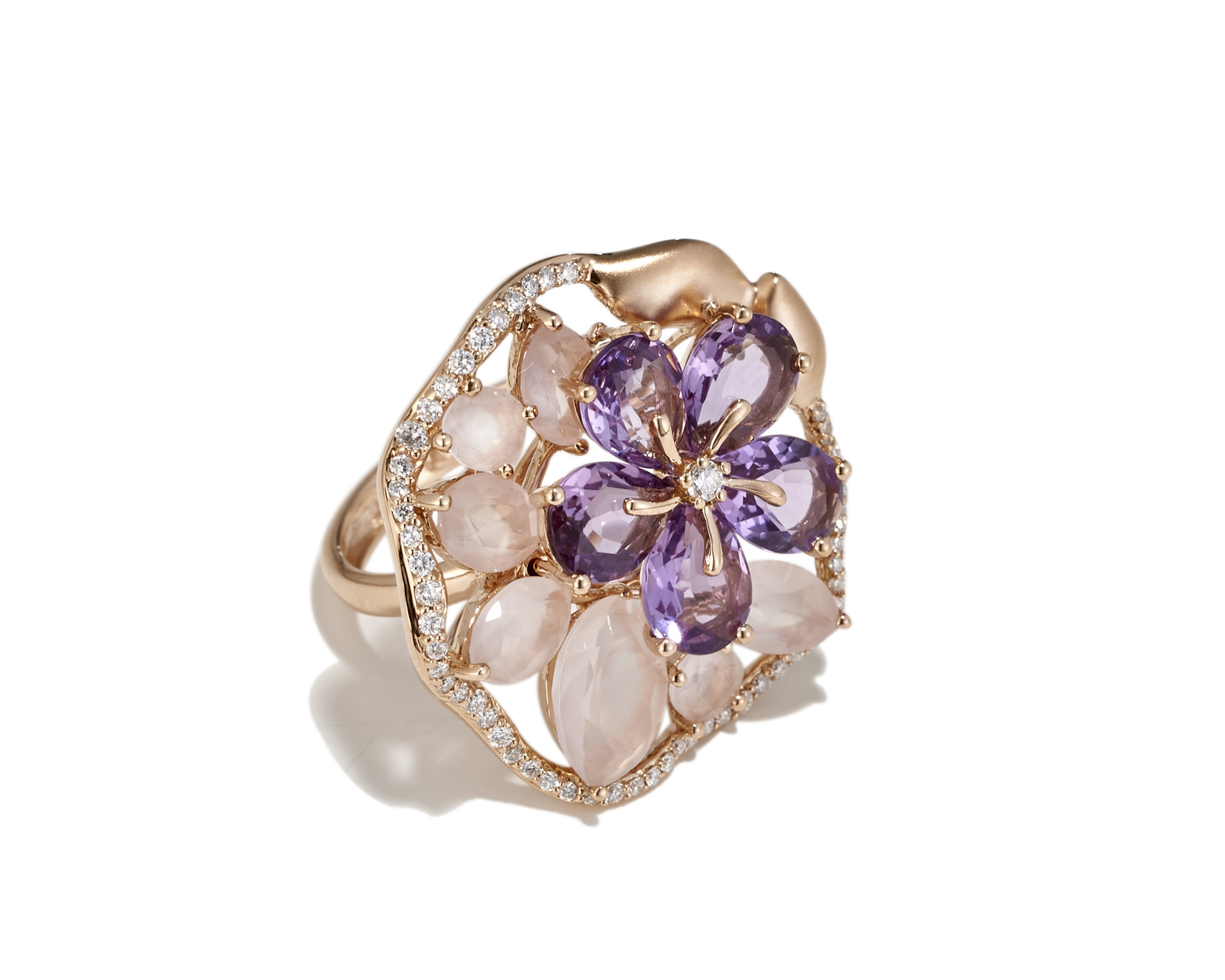 Rose Quarts amethyst cluster ring.jpg