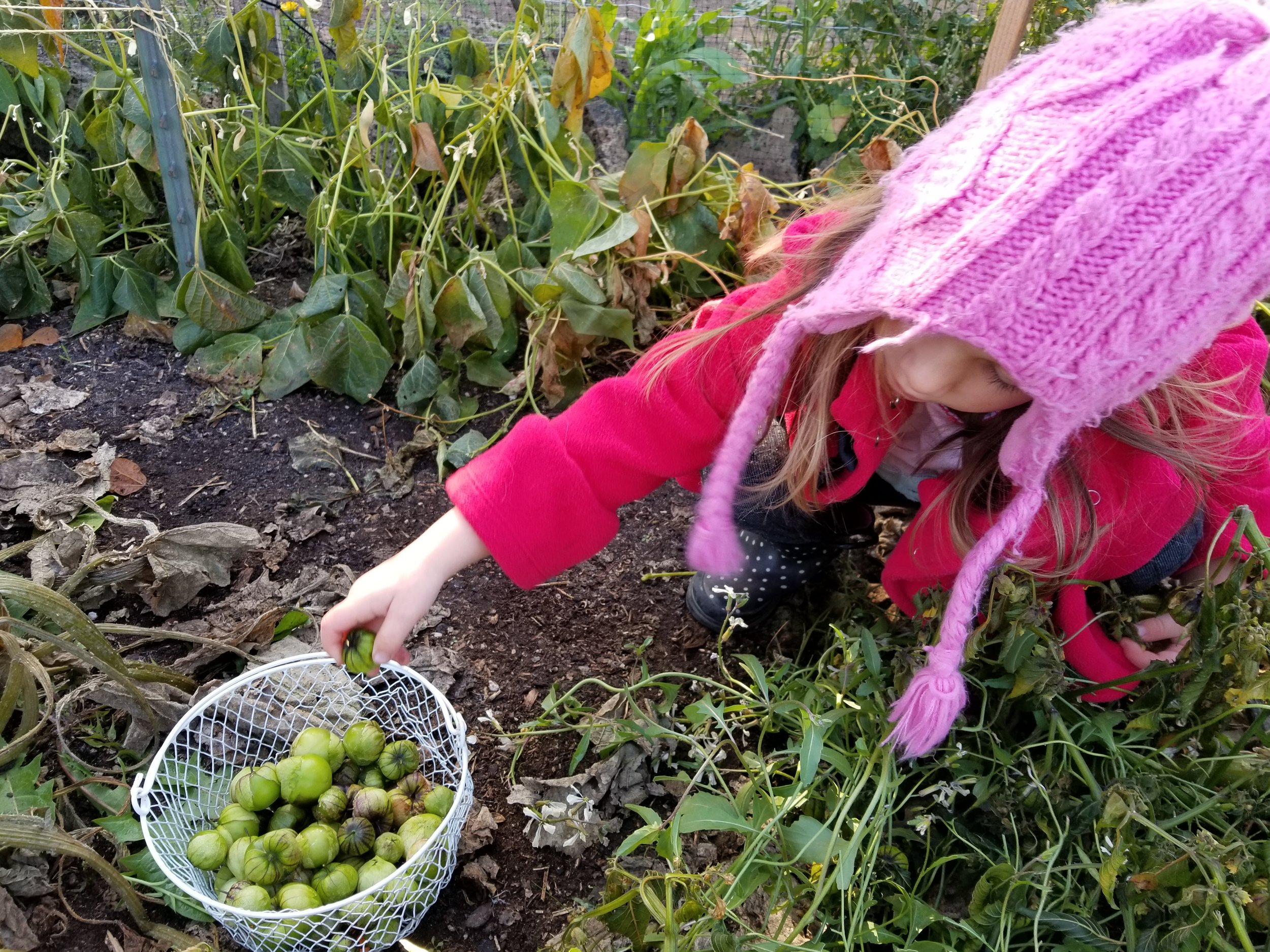 gardening kids