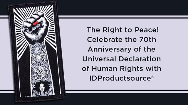 The Right to Peace! Celebrate 70th Anniversary of Human Rights with IDProductsource®  #ThousandsOfDistributorsCantBeWrong