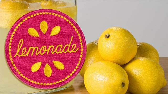 #WednesdayWisdom #ThousandsOfDistributorsCantBeWrong When life gives you lemons, make lemonade! #Patches as low as $0.44 (P)